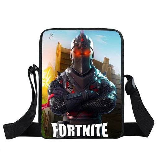 Fortnite Battle Royale Armored Black Knight Skin Crossbody Bag