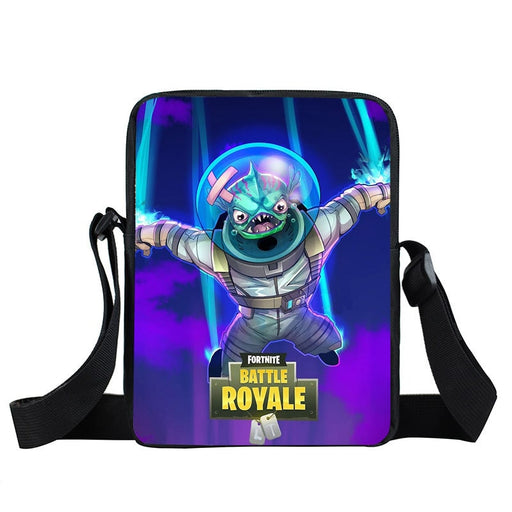 Fortnite Leviathan Piranha Fish Space Suit Cross Body Bag