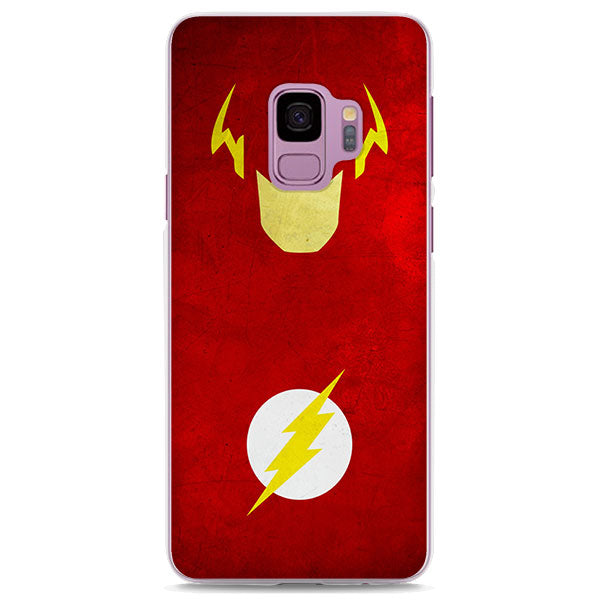 The Flash Minimalist Red Samsung Galaxy Note S Series Case