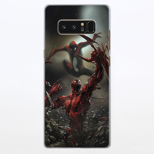 Spider-Man Vs Carnage Epic Fight Samsung Galaxy Note S Series Case