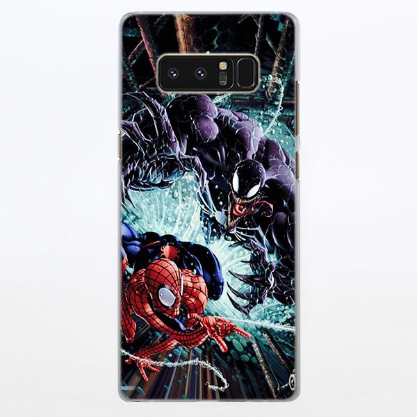 Spider-Man Vs Venom Twist Cover Samsung Galaxy Note S Series Case