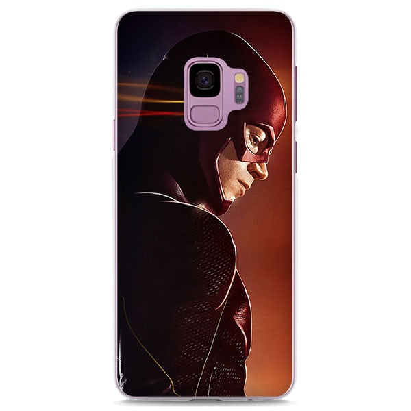 The Flash Barry Allen Profile Shot Samsung Galaxy Note S Series Case