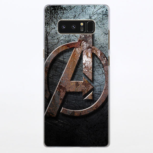 Marvel The Avengers Rusty Logo Samsung Galaxy Note S Series Case