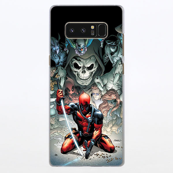 Cable & Deadpool Marvel Comic Cover Samsung Galaxy Note S Case