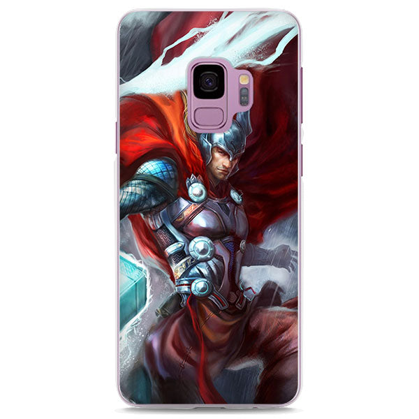 Thor Thunder & Rain Comic Art Samsung Galaxy Note S Series Case