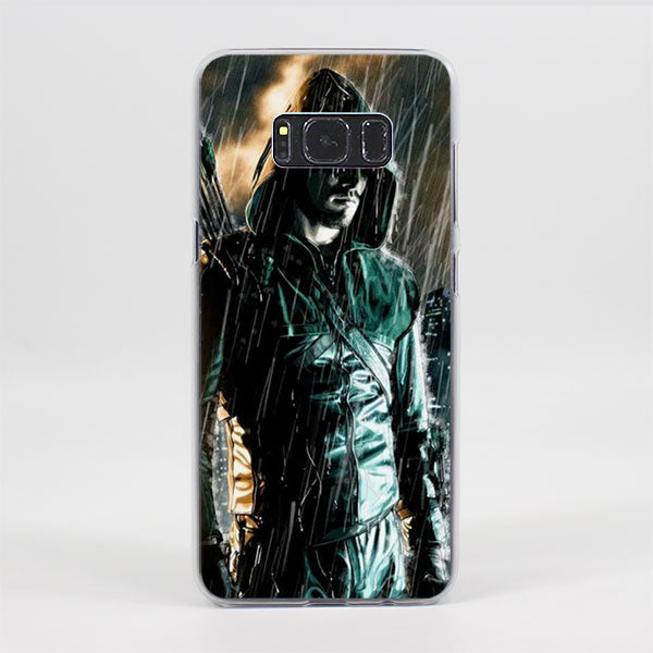 Green Arrow Gloomy Pouring Rain Samsung Galaxy Note S Series Case