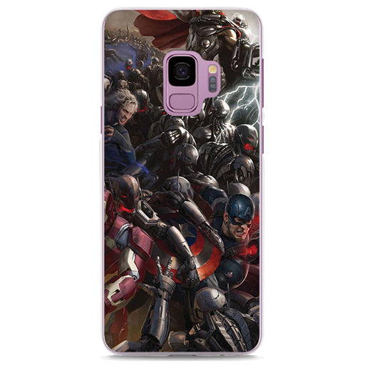 Avengers Age of Ultron Cool Concept Art Samsung Galaxy Note S Case
