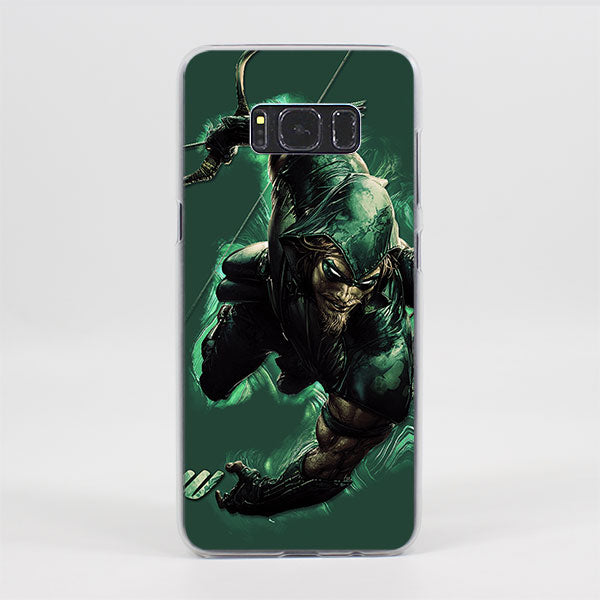 Green Arrow In Action Epic Artwork Samsung Galaxy Note S Case