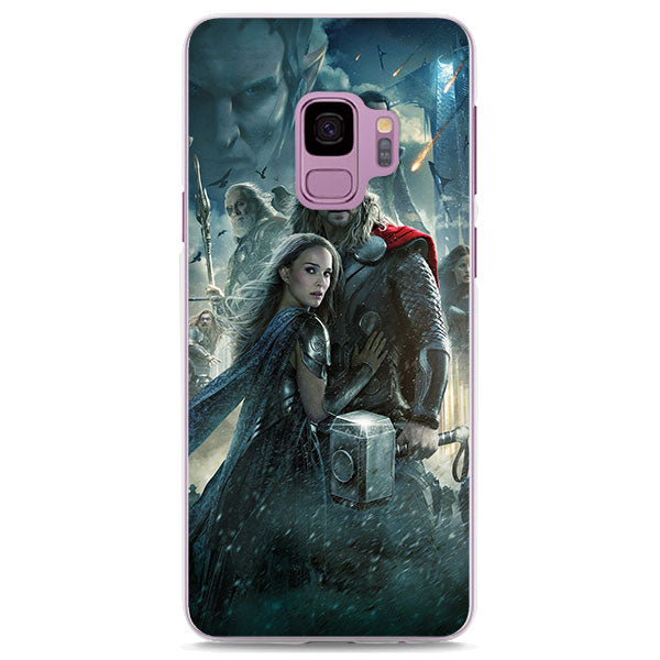 Thor The Dark World Poster Characters Samsung Galaxy Note S Case