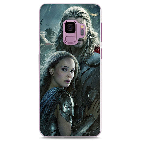 Thor & Jane Foster The Dark World Poster Samsung Galaxy Note S Case