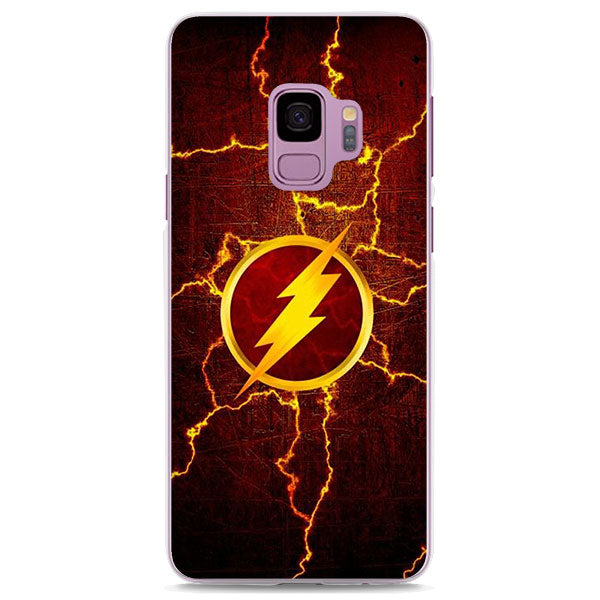 The Flash Symbol With Lightning Samsung Galaxy Note S Series Case