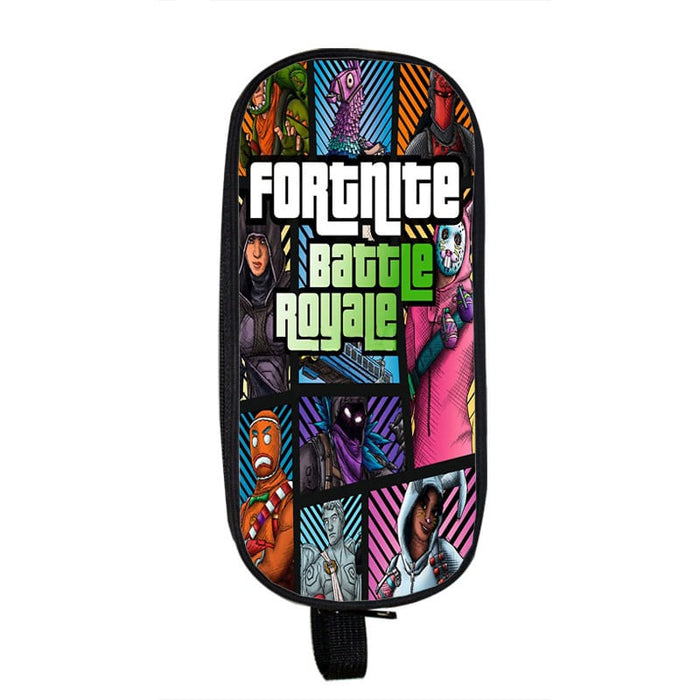 Fortnite Battle Royale Legendary Skins GTA Theme Pencil Case