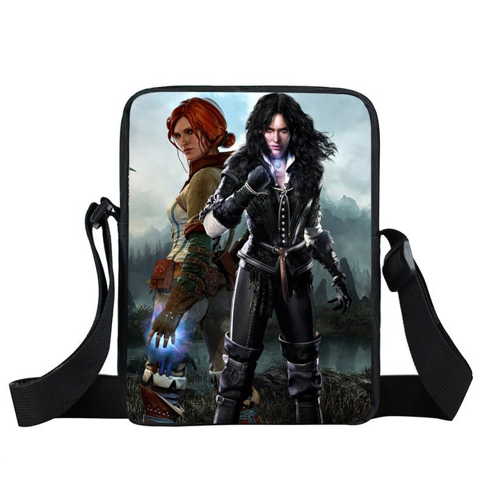 The Witcher 3 Wild Hunt Angry Yennefer & Triss Cross Body Bag