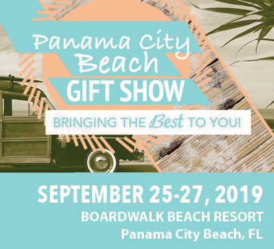 Join Us at Panama City Beach Gift Show - September 25-27, 2019 - Booth 625 | Handcrafted Gift LLC