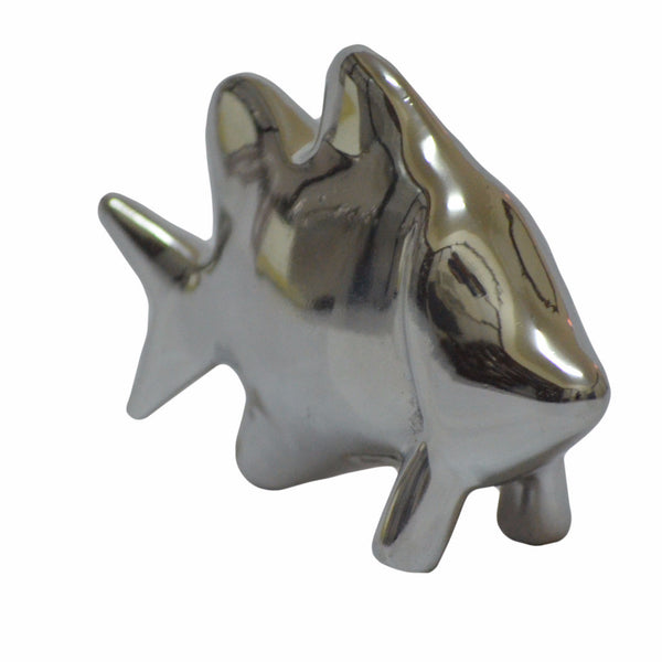 Fish Mini Figurine Handcrafted in Recycled Aluminum
