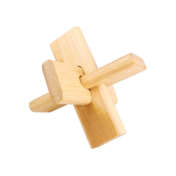 Bamboo Puzzles Medium - Cross