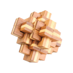 Bamboo Puzzles Medium - Pineapple