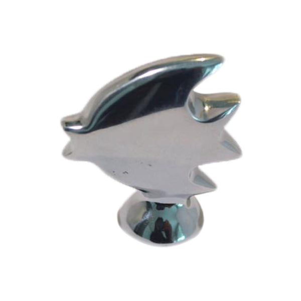 Small Fish Mini Figurine Handcrafted in Recycled Aluminum