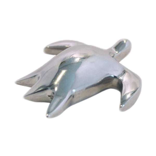 Sea Turtle Mini Figurine Handcrafted in Recycled Aluminum