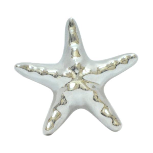 Star Fish Mini Figurine Handcrafted in Recycled Aluminum