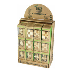 Bamboo Puzzles Small - Simple - Display Set