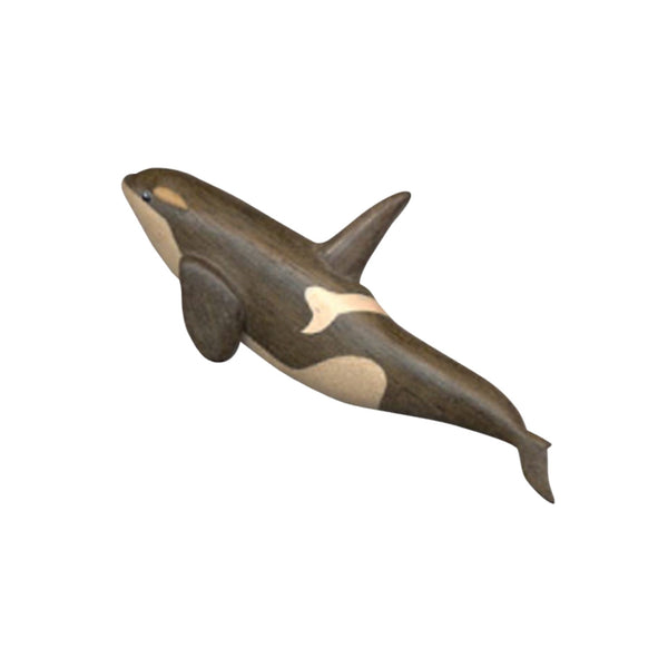 Killer Whale Magnet Handcrafted in Wood