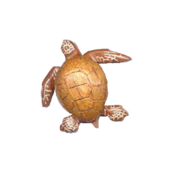 Sea Turtle Magnet Handcrafted in Wood