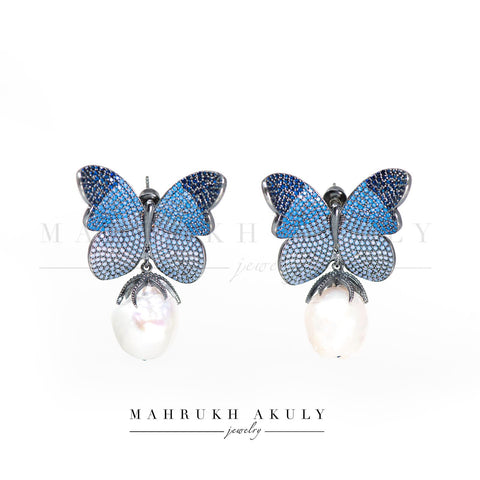 Ombré Butterly Earrings