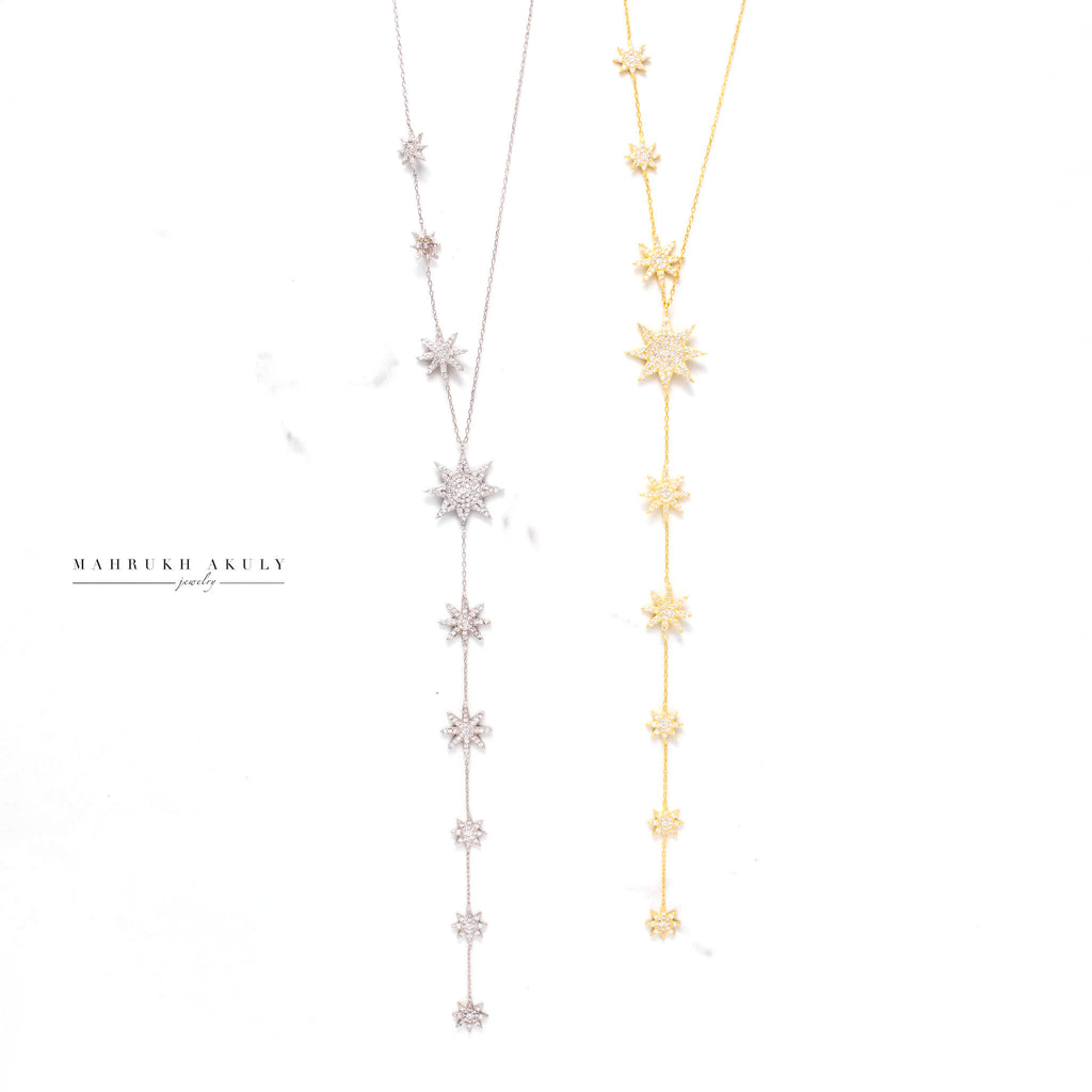 Lariat Star Necklace