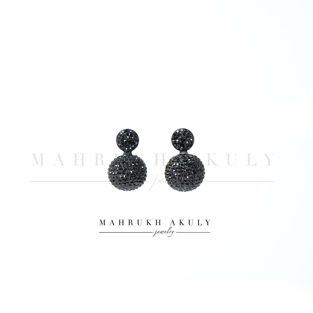 Swarovski orbit earrings