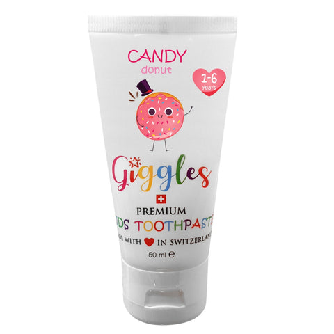 Giggles Candy Donut  -  Premium Kids Toothpaste 50ml