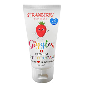 Giggles Strawberry Shortcake -  Premium Kids Toothpaste 50ml
