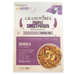 Granovibes Granola Multi-grain - Purple Sweet Potato 300g