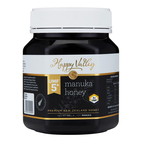 Happy Valley Premium New Zealand Manuka Honey UMF 5+ (1000g)
