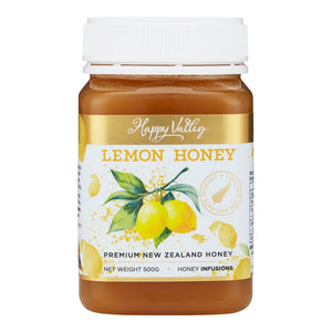 Happy Valley Premium New Zealand Manuka Lemon Honey (500g)