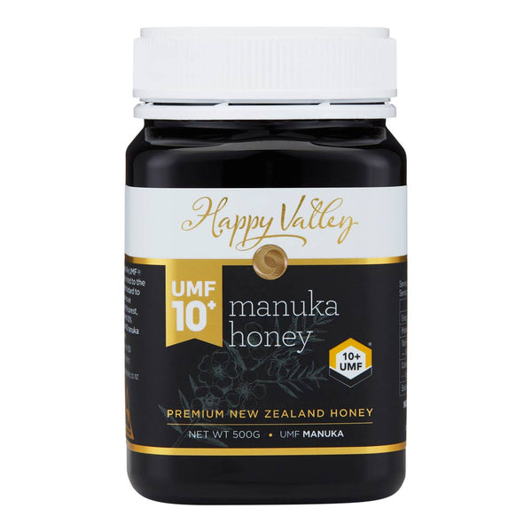 Happy Valley Premium New Zealand Manuka Honey UMF 10+ (500g)