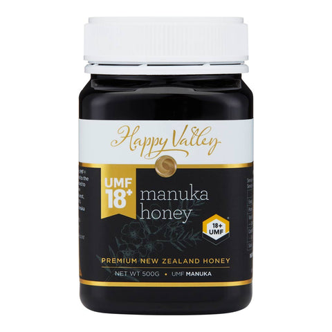 Happy Valley Premium New Zealand Manuka Honey UMF 18+ (500g)