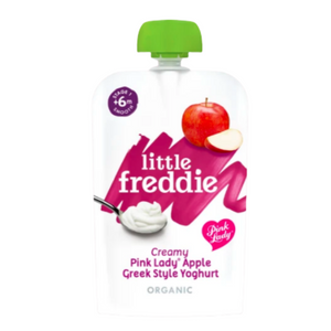 Little Freddie Creamy Pink Lady® Apple Greek Style Yoghurt 100g