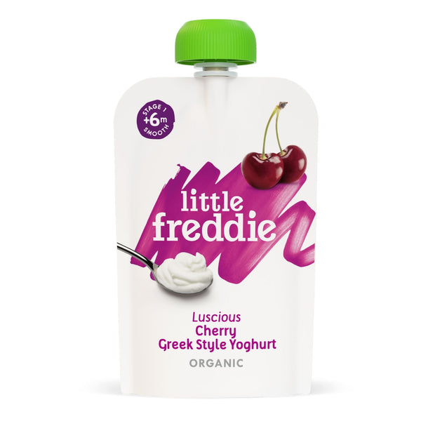 Little Freddie Lusious Cherry Greek Style Yoghurt 100g [17 NOV 2020]