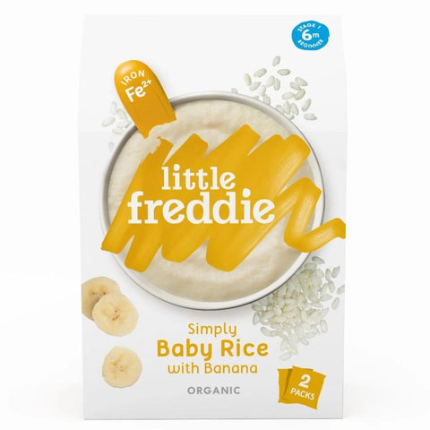 Little Freddie Simply Baby Rice with Banana -  160g [23 JAN 2021]