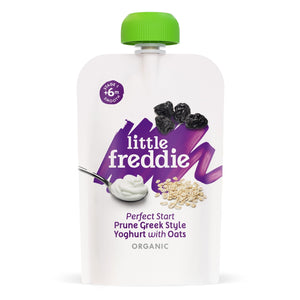 Little Freddie Prune Greek Style Yoghurt with Oats [BBF 15 AUG 2021]