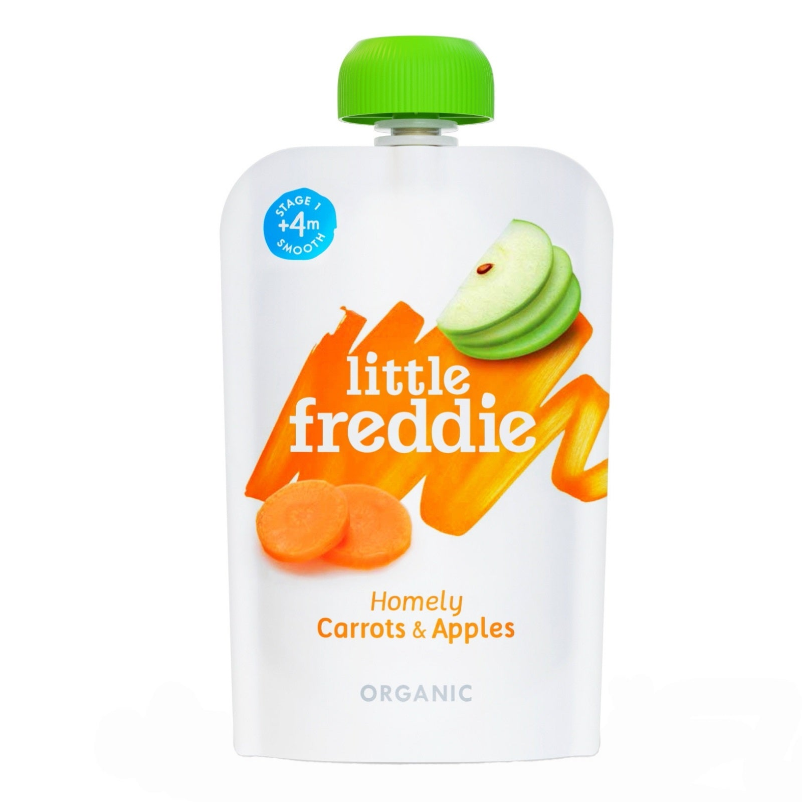 Little Freddie Homely Carrots and Apples 100g [BBF 15 May 2021]