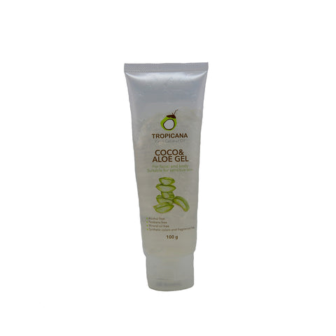 Tropicana Virgin Coconut Oil - Coco Aloe Gel - 100g