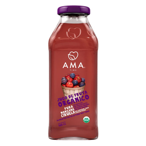 AMA Time Organic Plum and Apple Juice 300ml