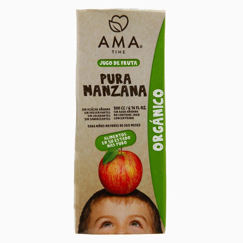 AMA Time Organic Apple Juice 200ml