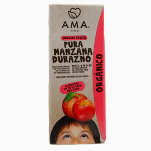 AMA Time Organic Peach and Apple Juice 200ml