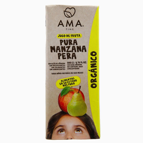 AMA Time Organic Pear and Apple Juice 200ml