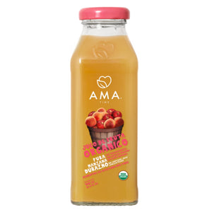 AMA Time Organic Peach and Apple Juice 300ml