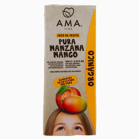 AMA Time Organic Mango and Apple Juice 200ml