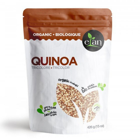 ELAN Organic Tri-Colour Quinoa 426g [EXP 3 APRIL 2021]